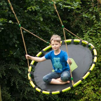 This nest swing can be used by 1 or 2 children together,