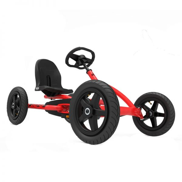 BERG Buddy Redster Go Kart with brake free wheel and air tyres.