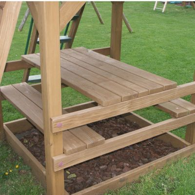 3 in 1 Picnic Table Playfoor Up