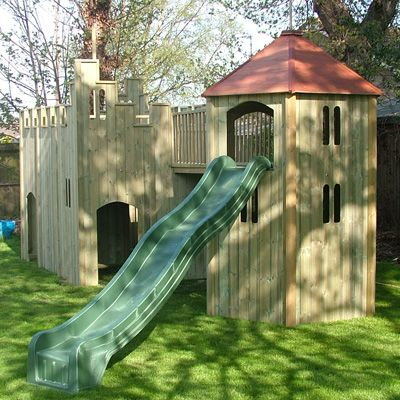All Out Play Castle and Tower Set