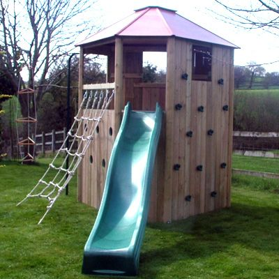 All Out Play Climbing Centre fast 3m (10ft) slide