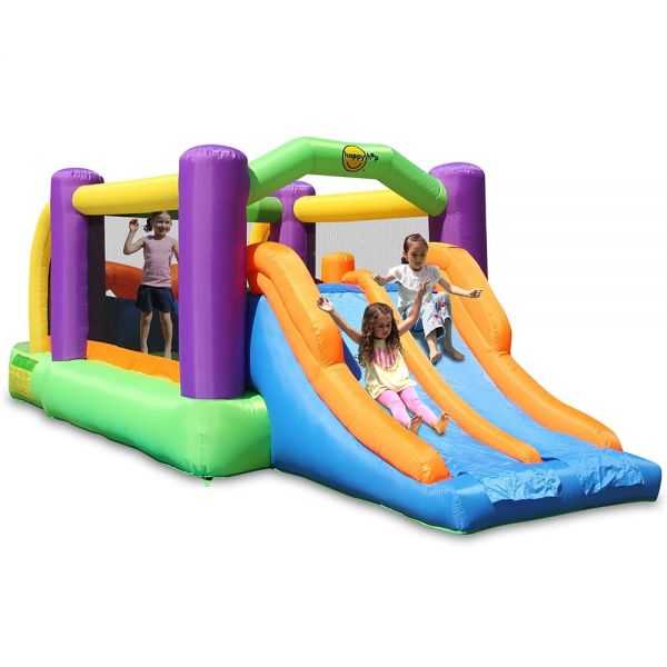 Plum Happy Hop Obstacle Course Bouncer