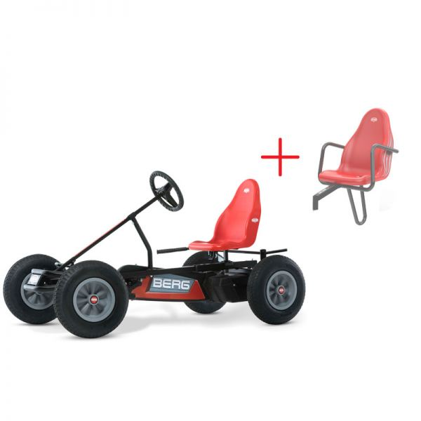 BERG classic basic red BFR with FREE passenger seat.
