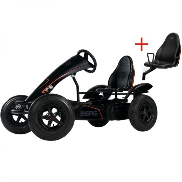 BERG Black Edition E-BF with FREE passenger seat.
