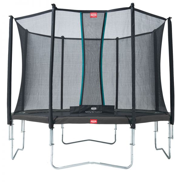 BERG Favorit 380cm (12.5ft) Limited Edition Grey with safety net