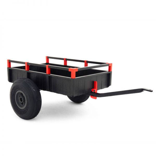 BERG large trailer with tipping feature.