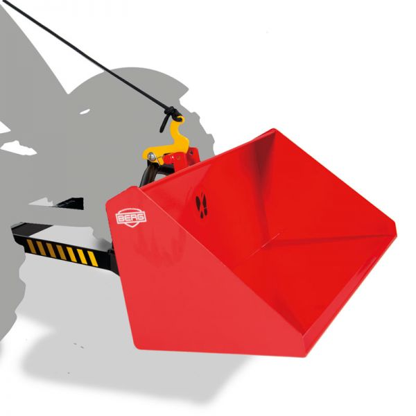 Lift Bucket shown on front lift unit that is sold separatley.