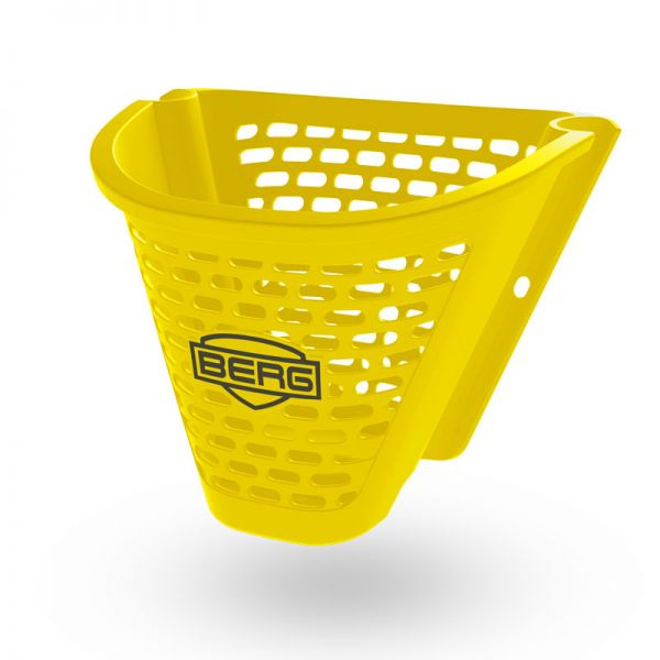 Buzzy basket yellow front.