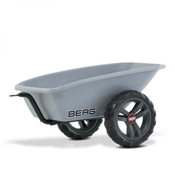 BERG Buzzy Trailer supplied with a tow bar.