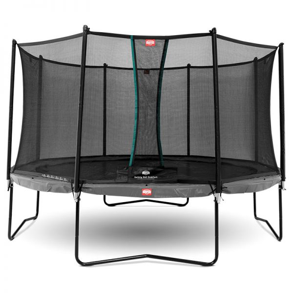 BERG Champion Grey 380cm (12.5ft) with safety net