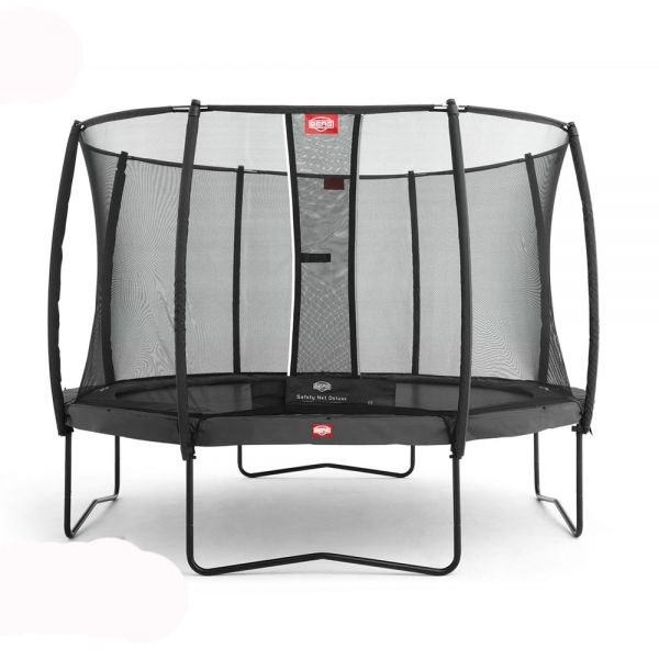 BERG Champion Grey 380cm (12.5ft) with safety net Deluxe.