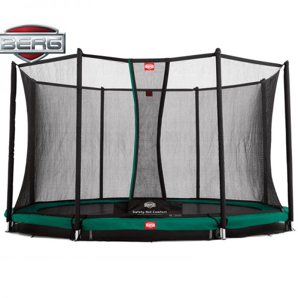 BERG InGround Champion 380 (12.5ft) with safety net