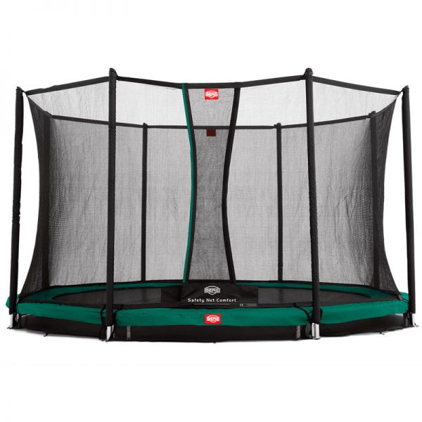 BERG unground Favorit 380 (12.5ft) with safety net.