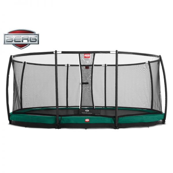 "BERG Inground Grand Champion 520cm x 345cm (17ft 1"" x 11ft 4"") with safety net"