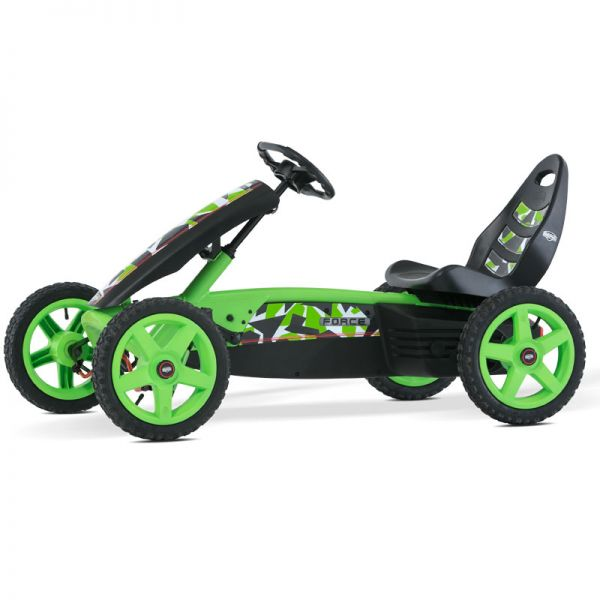 BERG Force Go Kart with brake free wheel and air tyres.