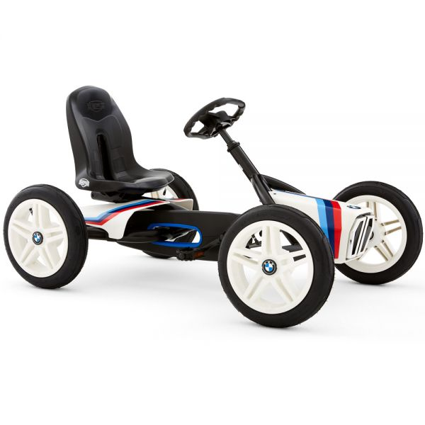 BERG BMW Street Racer Go Kart with brake free wheel and air tyres.