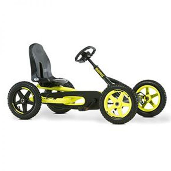 BERG Buddy Cross Go Kart with brake free wheel and all-terrain air tyres.