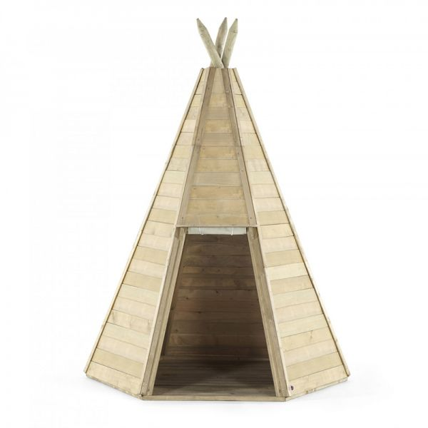Plum great wooden Teepee 1.5m wide and 2.3m high.