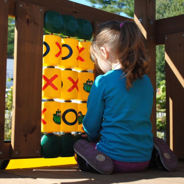 Creative Playthings OXO Game adds more fun to your playset.