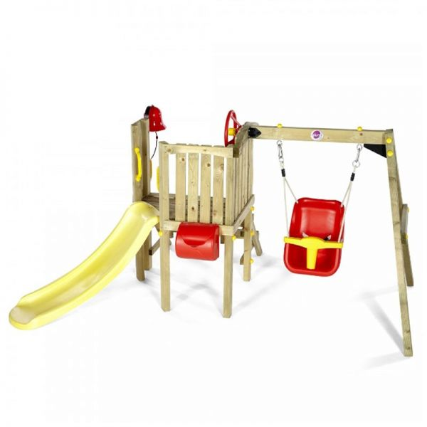 Plum Toddlers Tower wooden play centre.