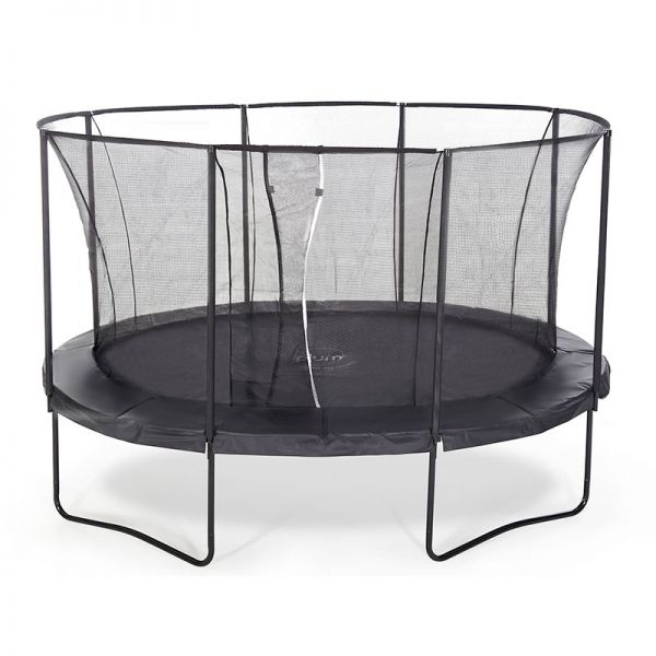 Plum The Oval 11ft x 16ft Springsafe trampoline and enclosure - limited availability