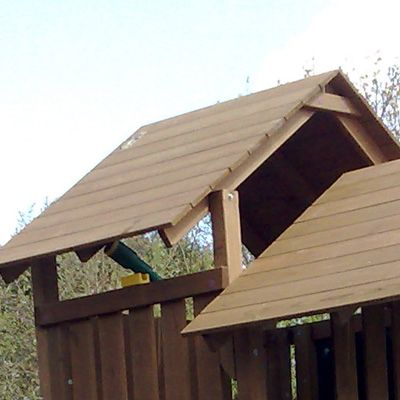 Skybox Wooden Roof