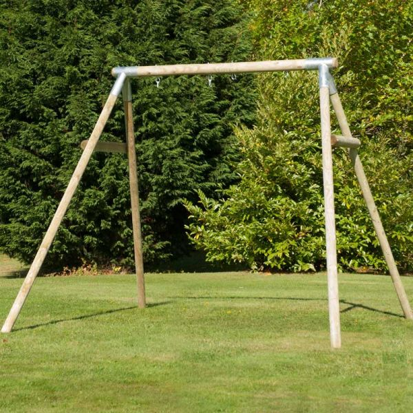 TP Knightswood double swing frame - customise this frame with any of the TP swing seats or add your own.
