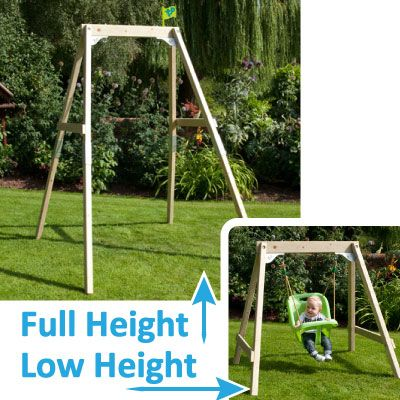 TP302 Growable Acorn Swing - The swing seats are a cost option.