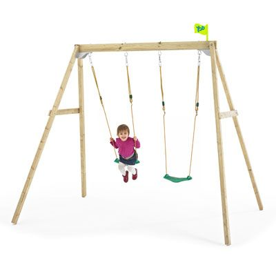 TP Forest Double swing 2 with swing seat.