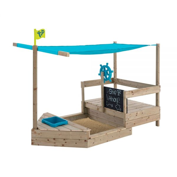 Extended Ahoy Wooden Play Boat