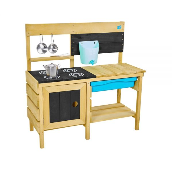 Deluxe wooded mud kitchen